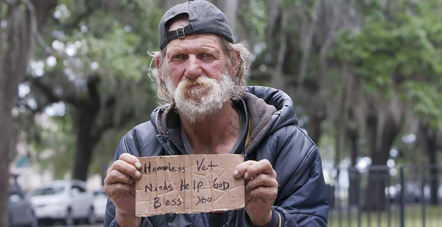 Housing Development: Homelessness hits veterans doubly hard