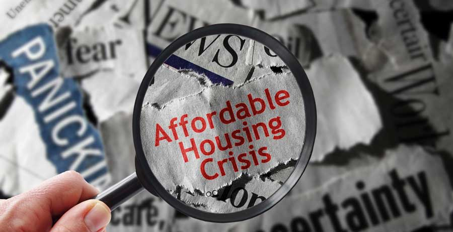 The affordable housing crisis hits home