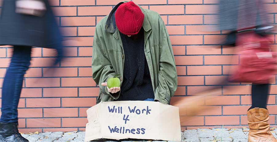 Employment as wellness?